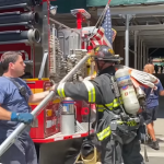 Quick Knockdown on Manhattan High-Rise Fire